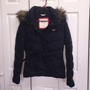 Hollister Puffy Coat